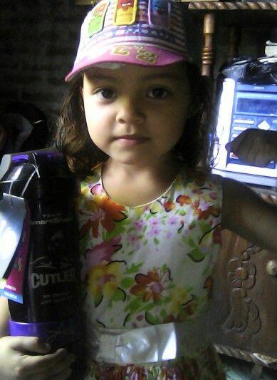 Mi hijita Sofía.