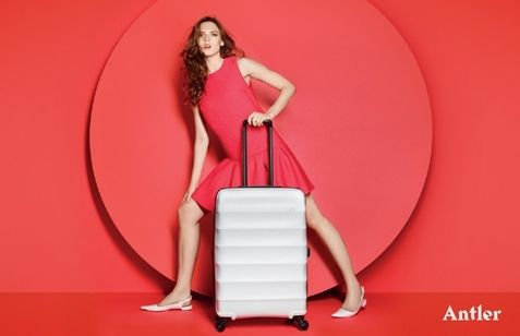 I don't know if it's the great fashion photography or the cool Medieval typeface but I really like the new identity for luggage brand Antler. Created by Mammal with photography by fashion photographer Matthew Shave, the identity aims to emphasise the brand's 'style and playfulness'.