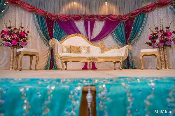 Photo of indian wedding reception decor ideas MaharaniWeddings