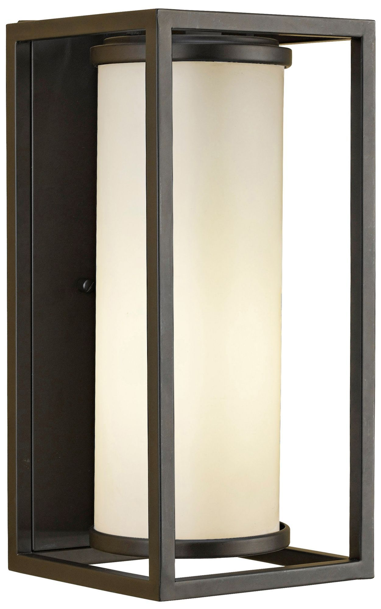 industrial style outdoor lighting. industrial moderne 14 3/4-inch-h murray feiss outdoor light - euro style lighting