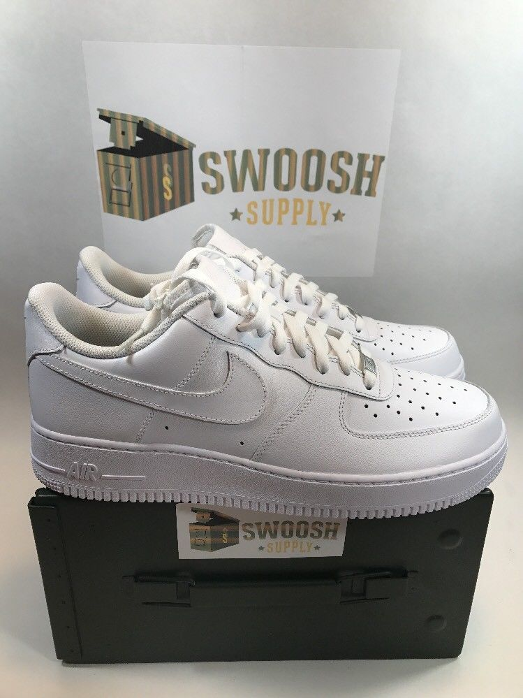 661b21c3e04152 NEW Nike Air Force One 1 AF1 WHITE OG LOW 315122-111 sz 10 Classic  Nike   AirForce1
