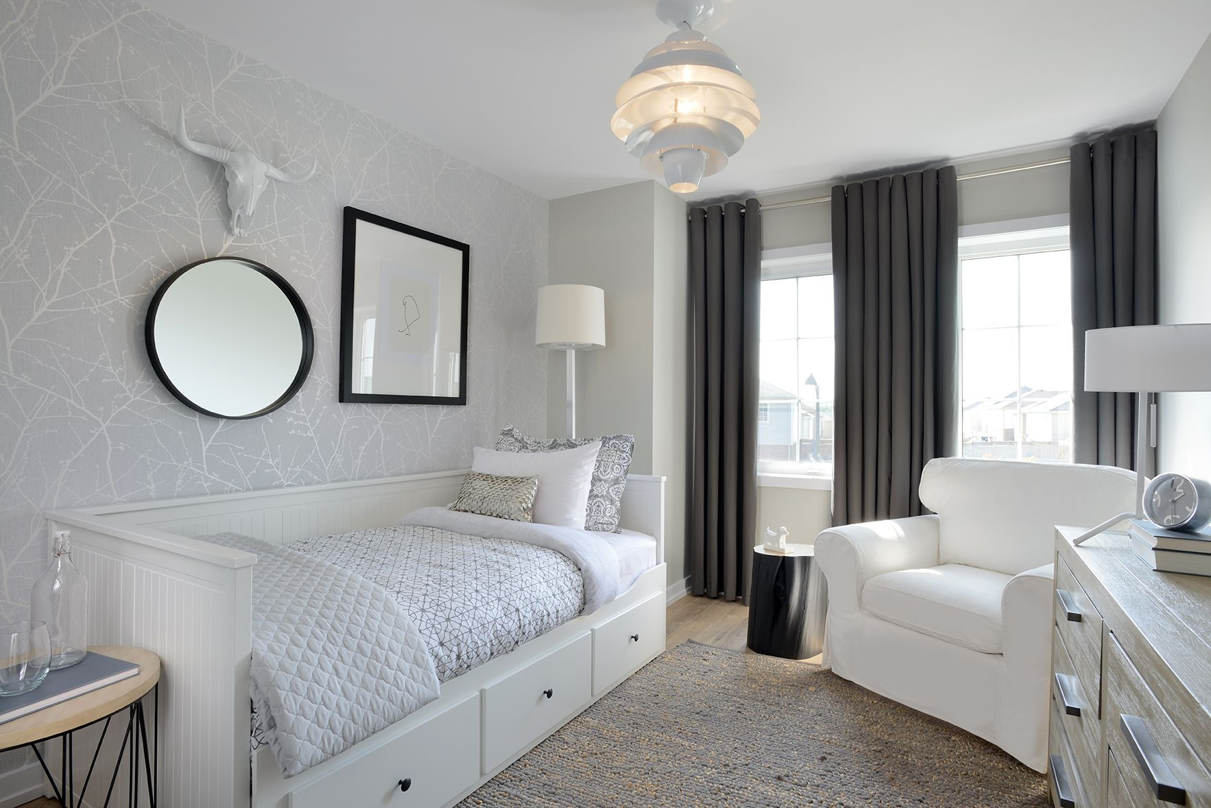 Crisp neutrals and loads of texture are the defining ...