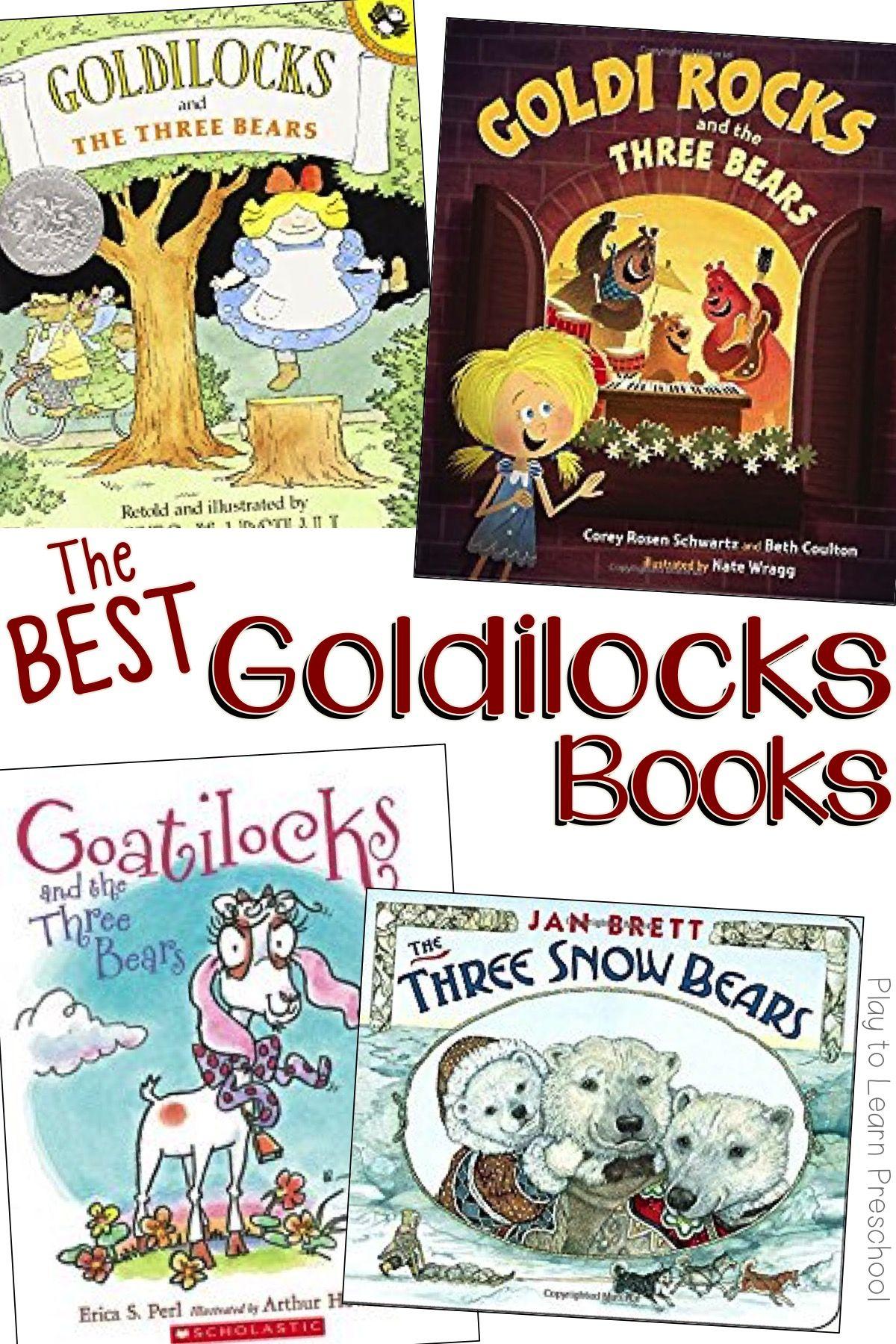 The 12 Best Goldilocks Books For Preschoolers
