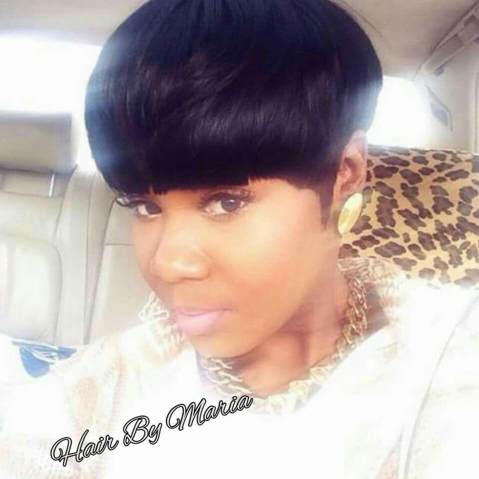 Mushroom cut cute hair pinterest mushrooms black girls