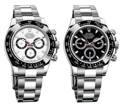 Rolex Oyster Perpetual Cosmograph Daytona Stainless Steel Watches