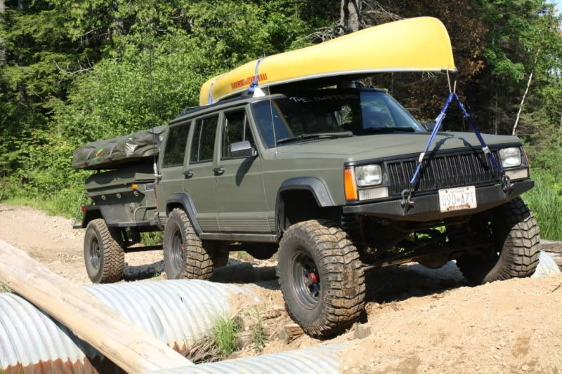 Best Jeep Xj Modifications Xj Trailers Camping Trail Rig Pictures Jeepforum Com Jeep Xj Jeep Cherokee Jeep Camping