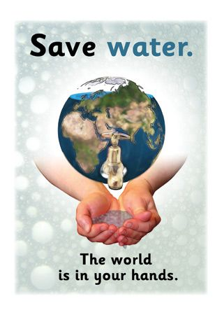 Use less water!!! |