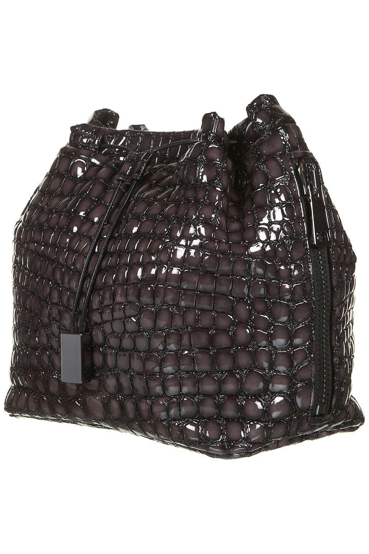 Bubble Leather Clutch Bag by Topshop Unique AW12 #topshop #unique #bubble #bag