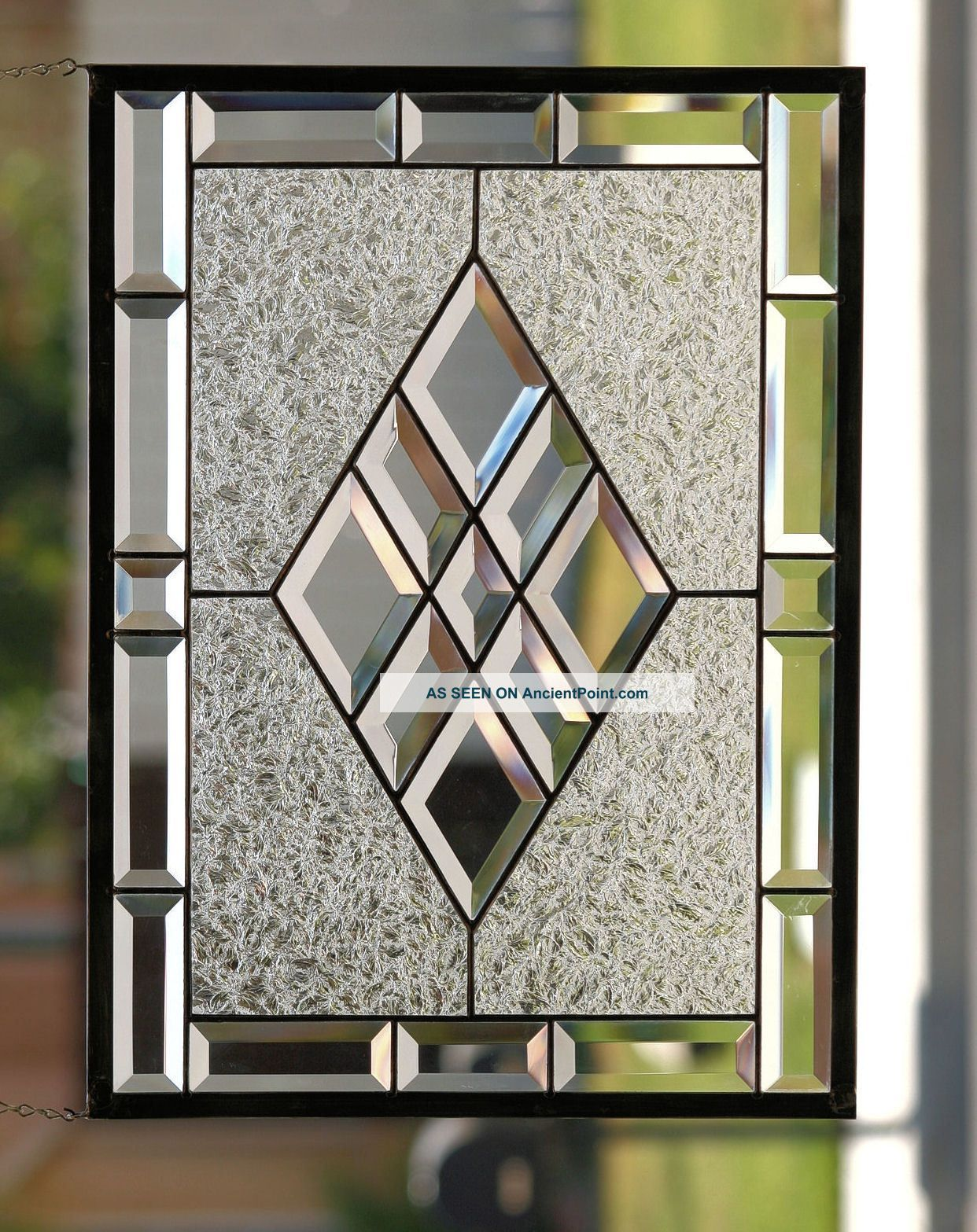 Door panel lovable leaded glass windows for doorsleaded for Window panel design
