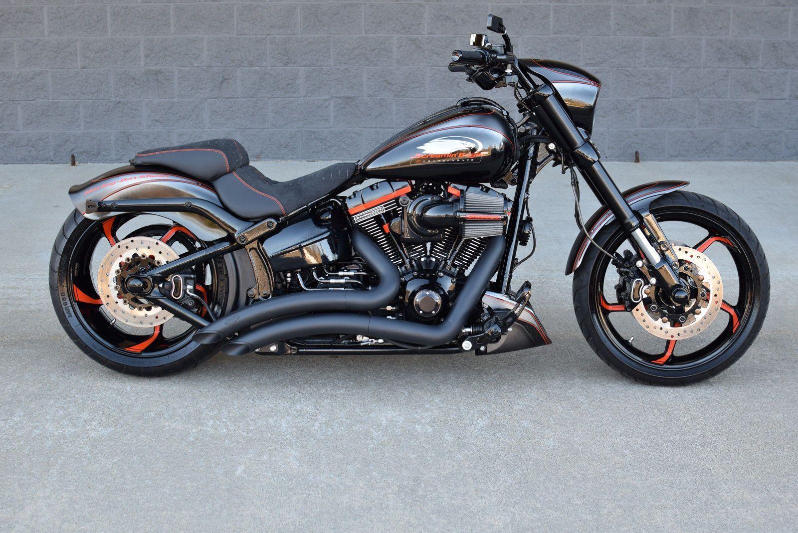 Ebay 2016 Harley Davidson Softail Fxse Breakout Screamin Eagle Cvo 10k In