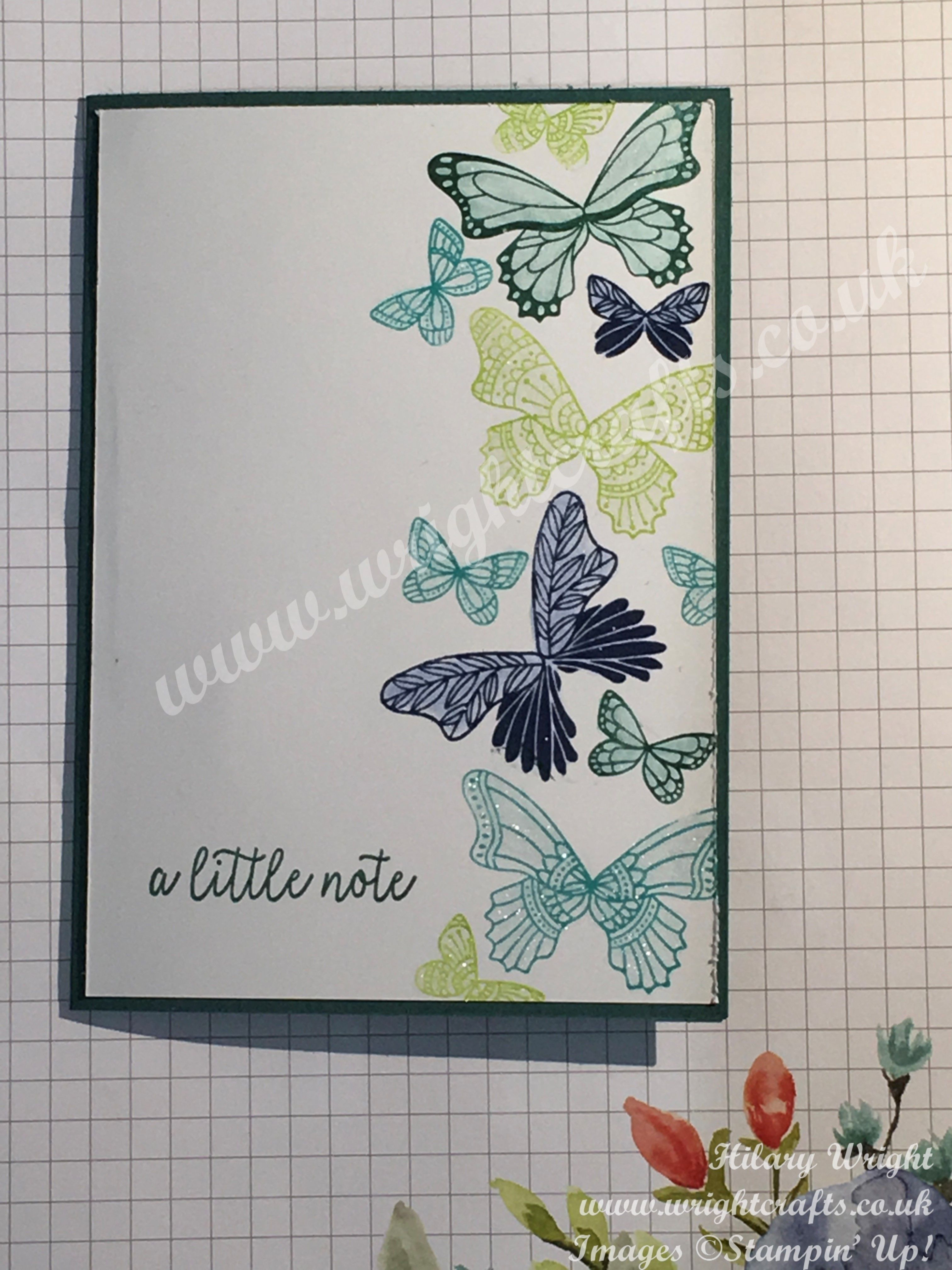 Butterfly Gala notelets from Stampin' Up! Spring / Summer Catalogue