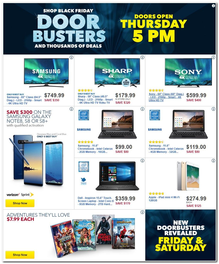 Best Buy Black Friday Ad 2017 Black Friday Ads Black Friday Cool Things To Buy