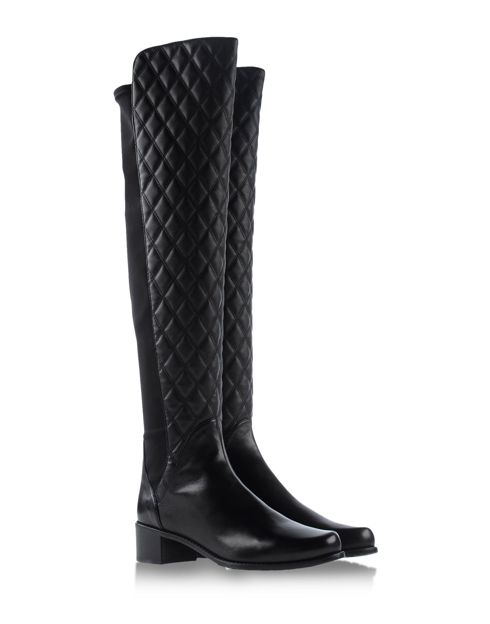 615aca76238e Stuart Weitzman s iconic 5050 boots in quilted leather  Over The Knee Boots  Shop Trend Buy Shoes Trend