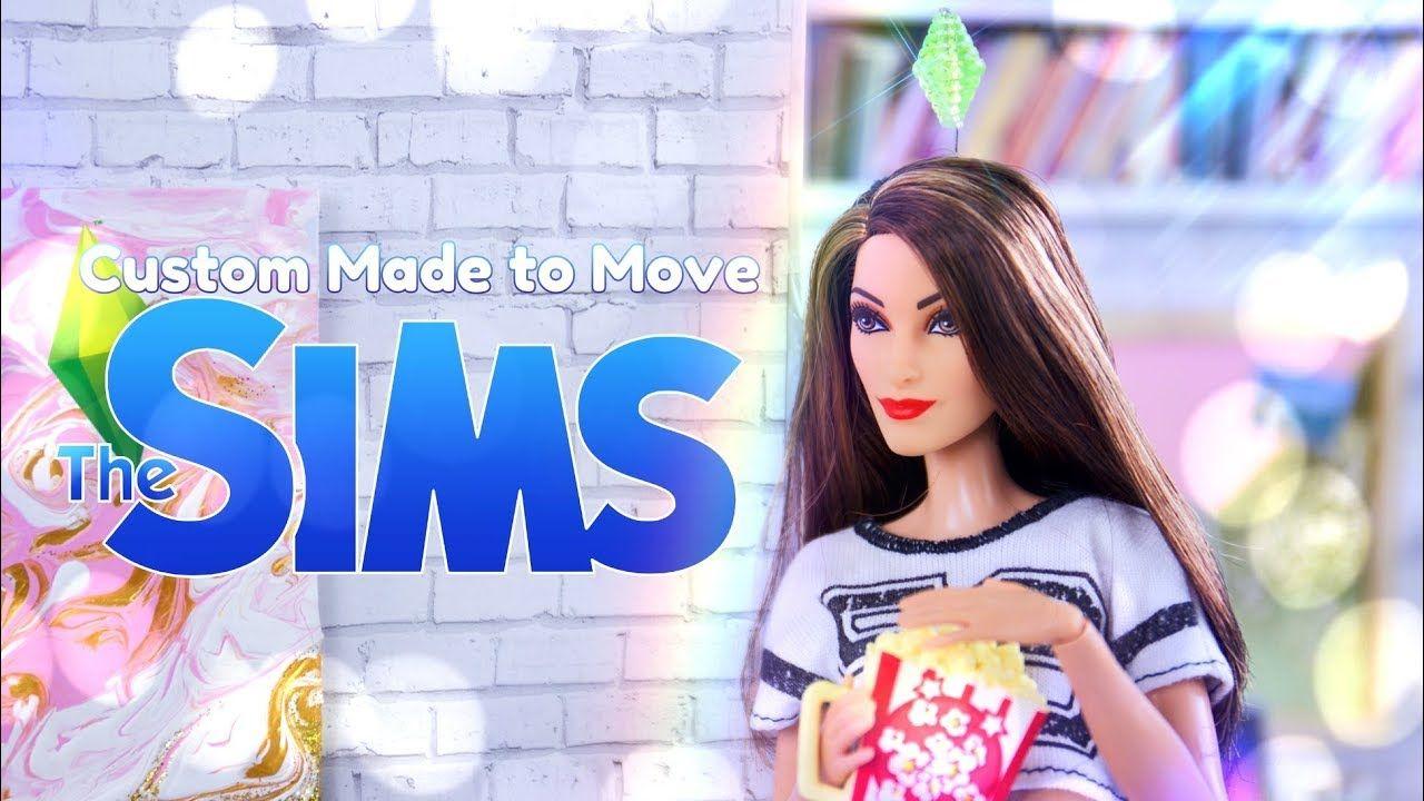 DIY - How to Make: CUSTOM Made to Move SIMS Doll   PLUS   DIY Plum