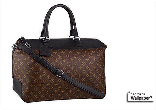Louis Vuitton 'Monogram Macassar' men's bag.