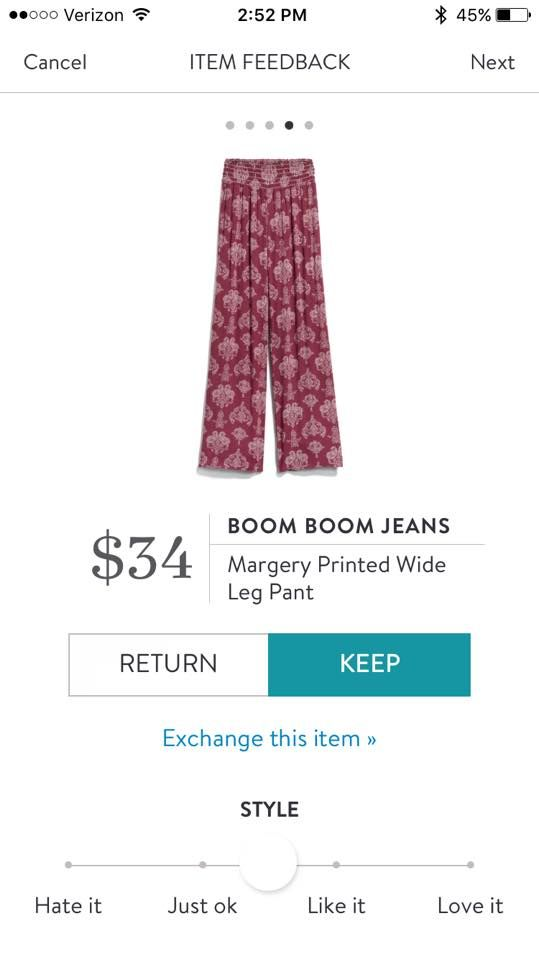 a509516199 margery printed wide leg pant Boom Boom Jeans Yes please!!!! | Stich ...