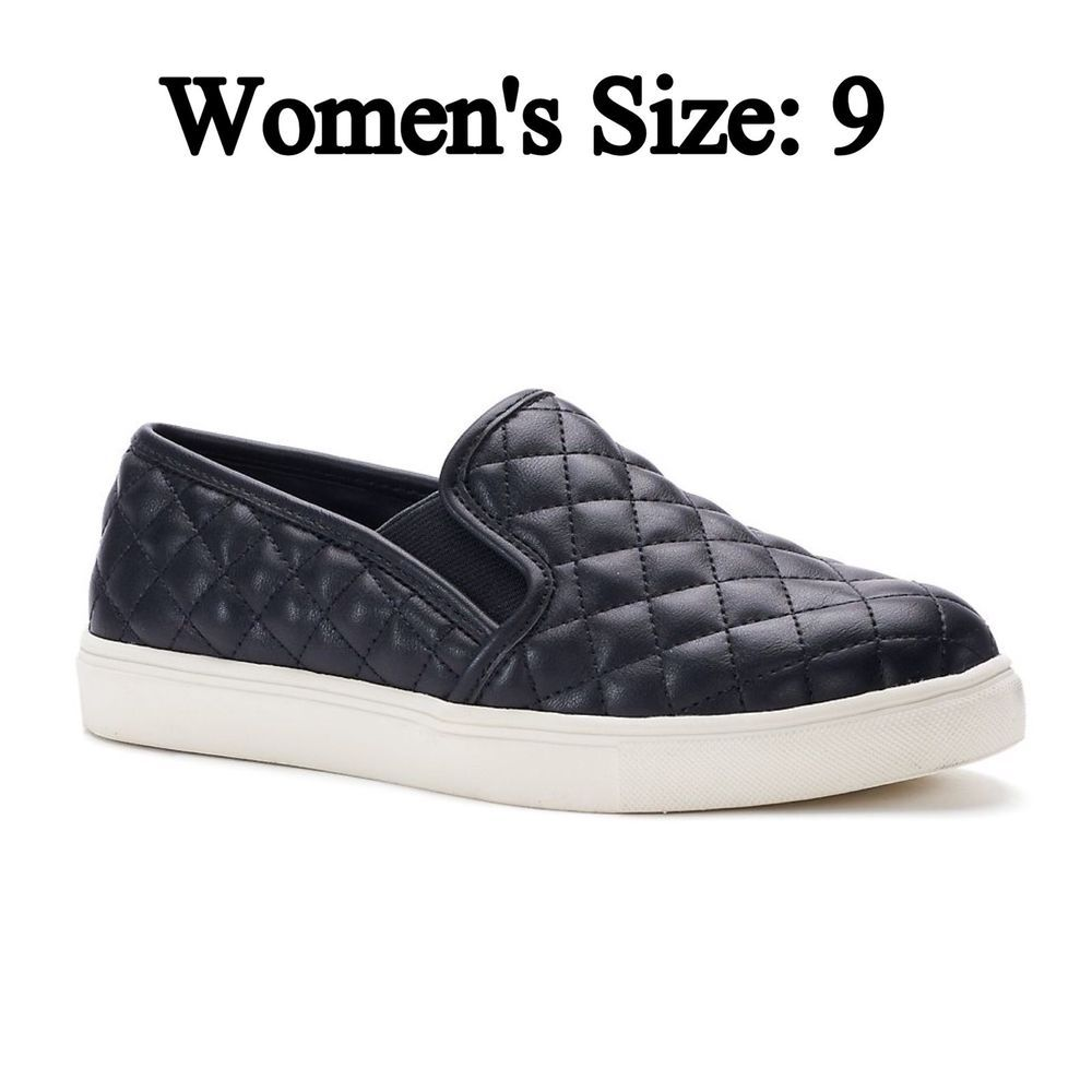 buy cheap buy recommend SO® Bay Women's Quilted ... Slip-On Sneakers footaction sale online cOkQ6sI