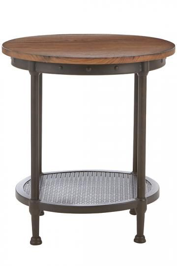 Gentry Round Accent Table 24 Quot H X 22 Quot D 249 Openwork