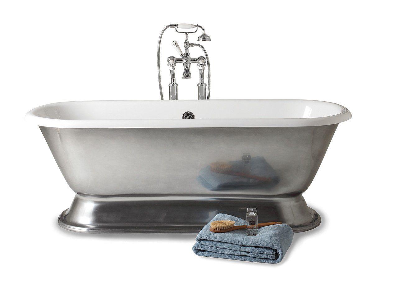 Geminus advance vrijstaand bad op voet. eenvoudige perfectie