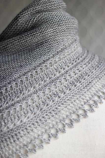 Flammenstola Lace Anleitung Strickanleitung Lacemuster 0