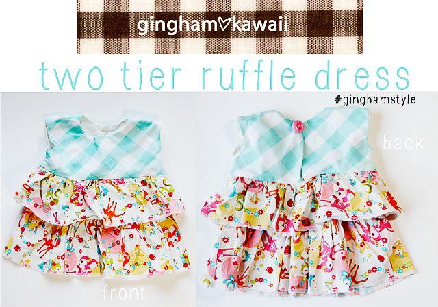 gingham style // free baby dress pattern: gingham loves kawaii ...