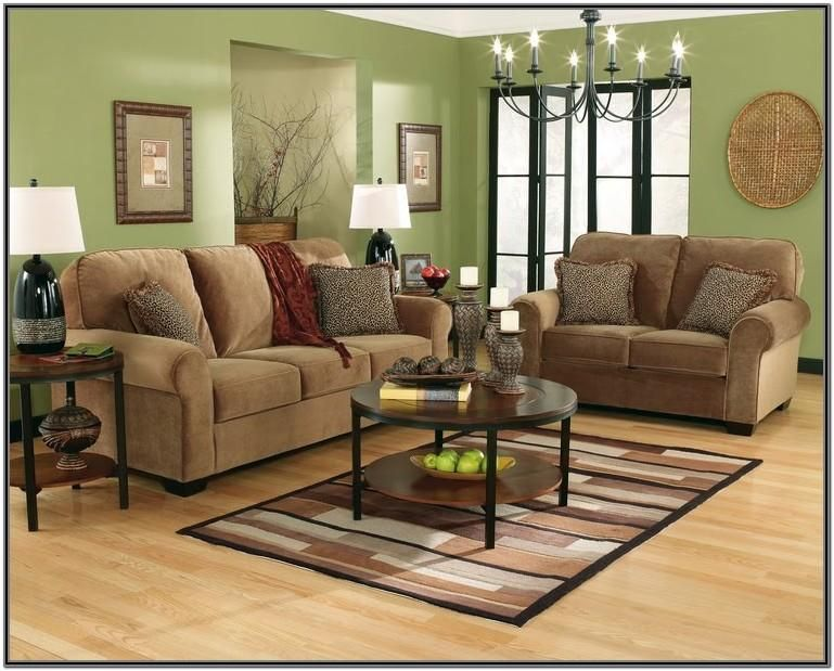 brown green and cream living room ideas in 2020 green on living room colors for walls id=81230