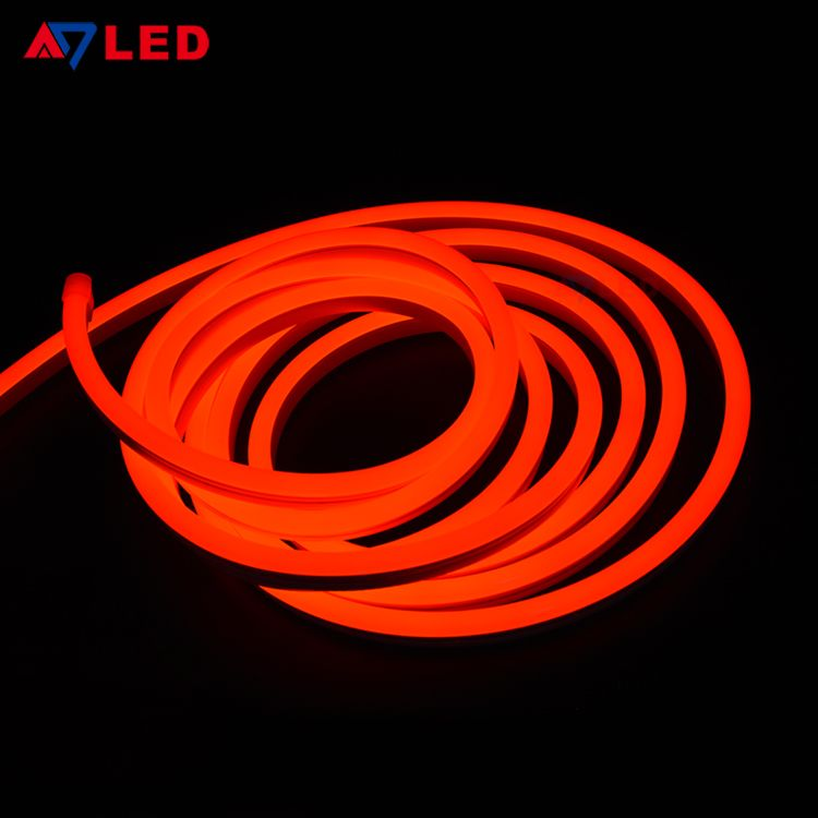 Flexible Neon Light Strip Led Rgb Neon Rope Light Led Strip For Building Facade Led Strip Lights 1 With Images Led Neon Lighting Neon Tube Lights Neon Lights For Rooms