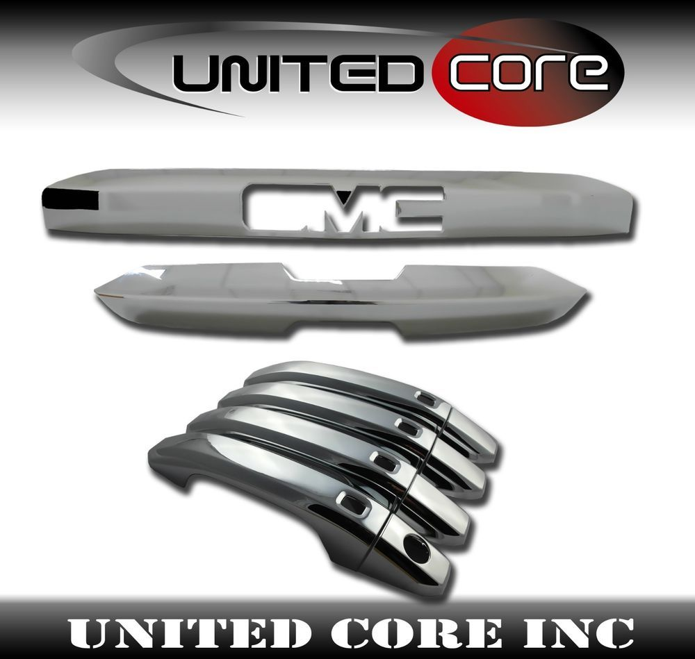 Pin On Gmc Yukon Yukon Xl Chrome Mirror Cover Chrome Door Handle Chrome Tailgate