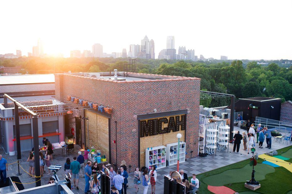 The Roof Ponce City Market Atlanta Bar Mitzvah Photographers City Market Ponce City Market Atlanta Atlanta Bars