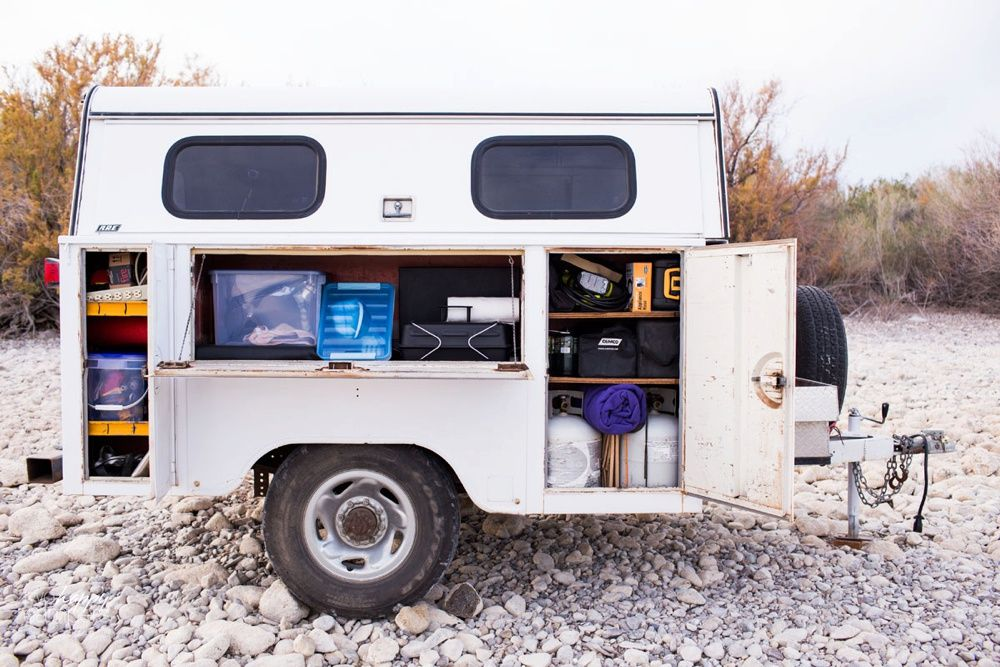 Camping Utility Trailer Add Instant Functionality To Your Getaway Vehicle With A That Is The Same Width Stance As