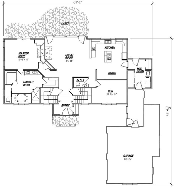 atrium ranch floor plans 171 floor plans with images