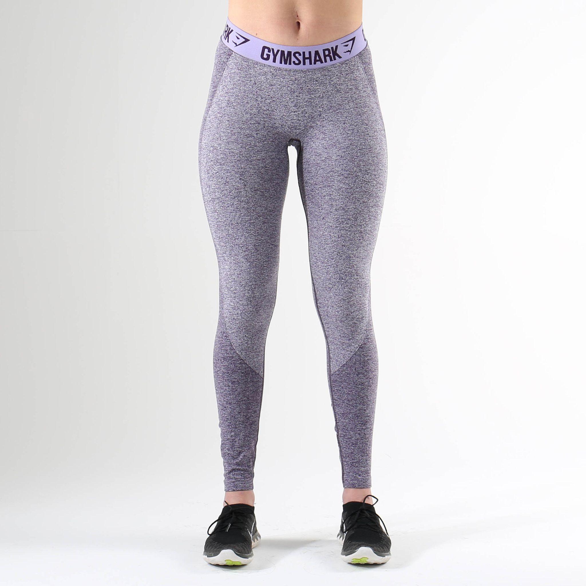 b1389ff51b11a Gymshark Flex Leggings - Rich Purple Marl/Soft Lilac | fitness ...