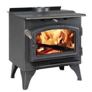 Vogelzang Defender 1 200 Sq Ft Wood Burning Stove With Blower Tr001b At The Home Depot Mobile Wood Stove Reviews Small Wood Stove Wood Burning Stove