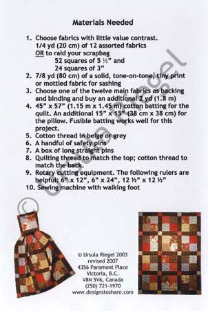 Scrapbag Quillow | Sew Insiprational | Pinterest | Patterns