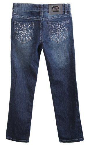 Miss Jeans Girls Skinny Jeans Stone Pockets