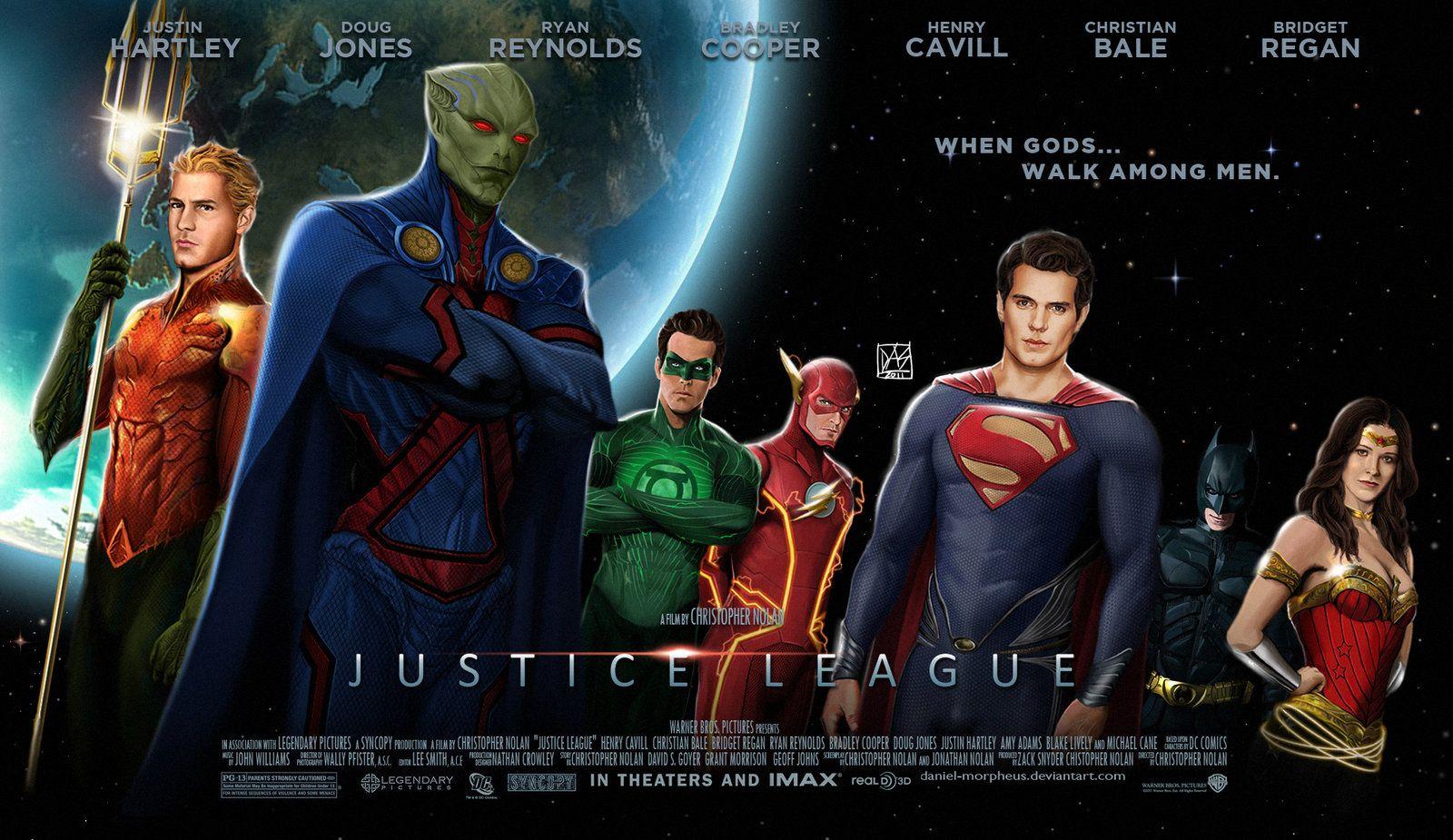 Justice League Film By Christopher Nolan Concept Poster By Daniel Morpheus Deviantart The Concept Poster For The Justice Filmes Quadrinhos Lista De Filmes