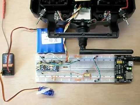 Open source RC transmitter software for the Arduino : Test