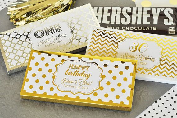 Birthday Candy Bar Wrappers Covers 1st Birthday Candy By Modparty Candy Bar Birthday 30th Birthday Party Favors Birthday Party Candy Bar
