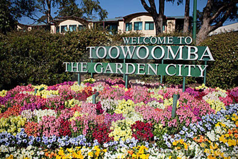 to Toowoomba the beautiful garden city of