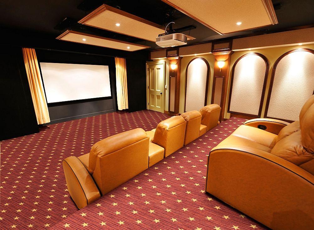 Curtain Call Theater Carpet Stargate Cinema Home
