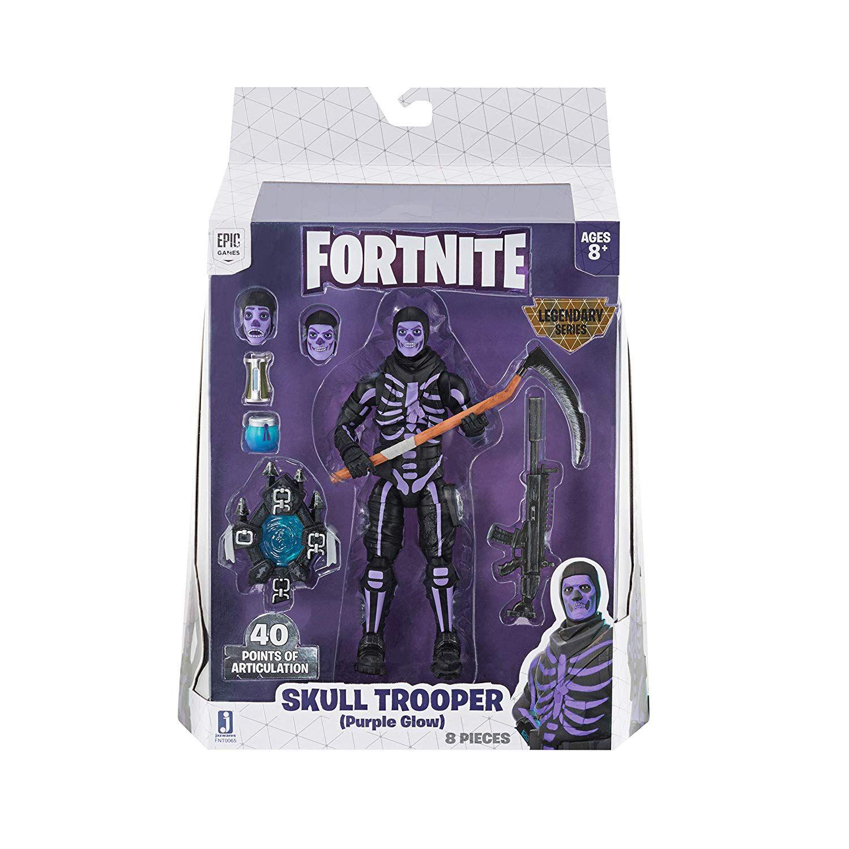The Skull Trooper (Purple Glow) 6inch action figure
