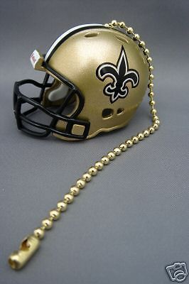 new concept 711cc 9a57f Light/fan pull & chain new orleans saints nfl football ...