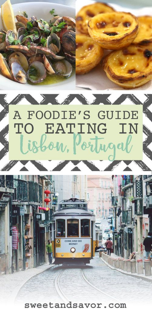 A Foodie's Guide to Eating in Lisbon, Portugal #lisbon