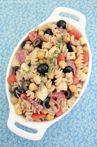 Italian Pasta Salad by CinnamonKitchn, via Flickr