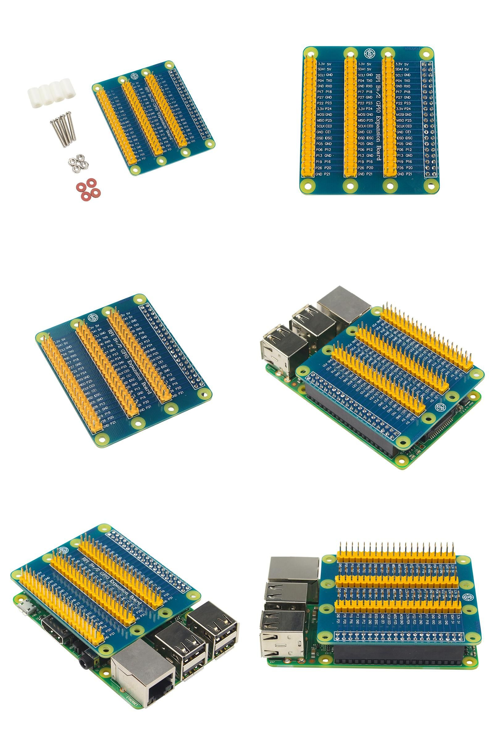 Visit to Buy] Raspberry Pi 3 Model B 40 Pin GPIO Adapter