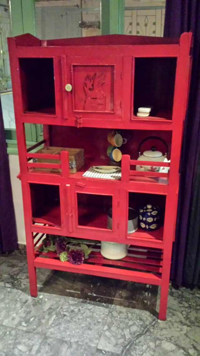 Renovated Vietnamese Traditional Dish Cabinet