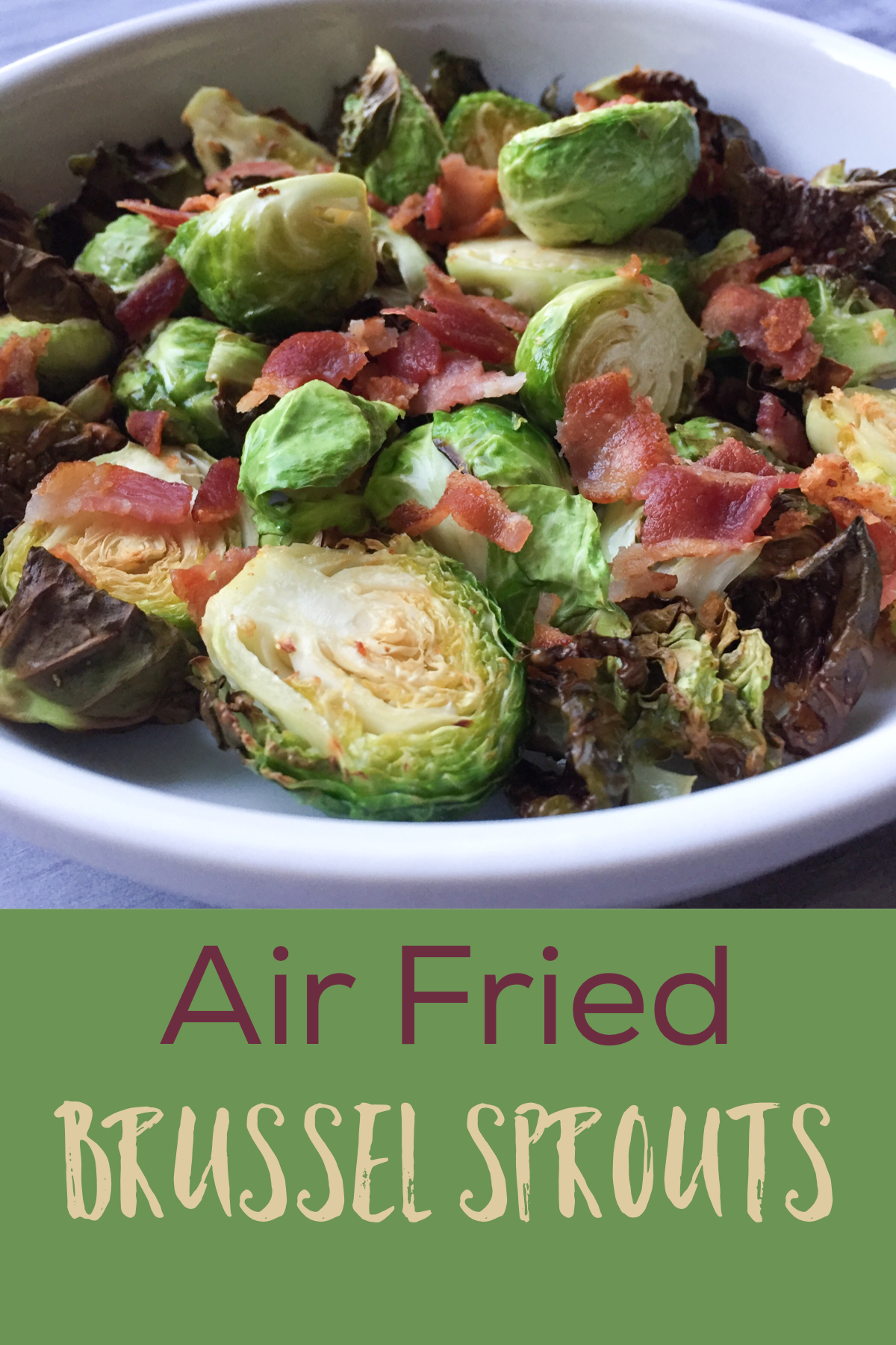 Brussel Sprout Recipes With Bacon Balsamic Vinegar Air Fryer