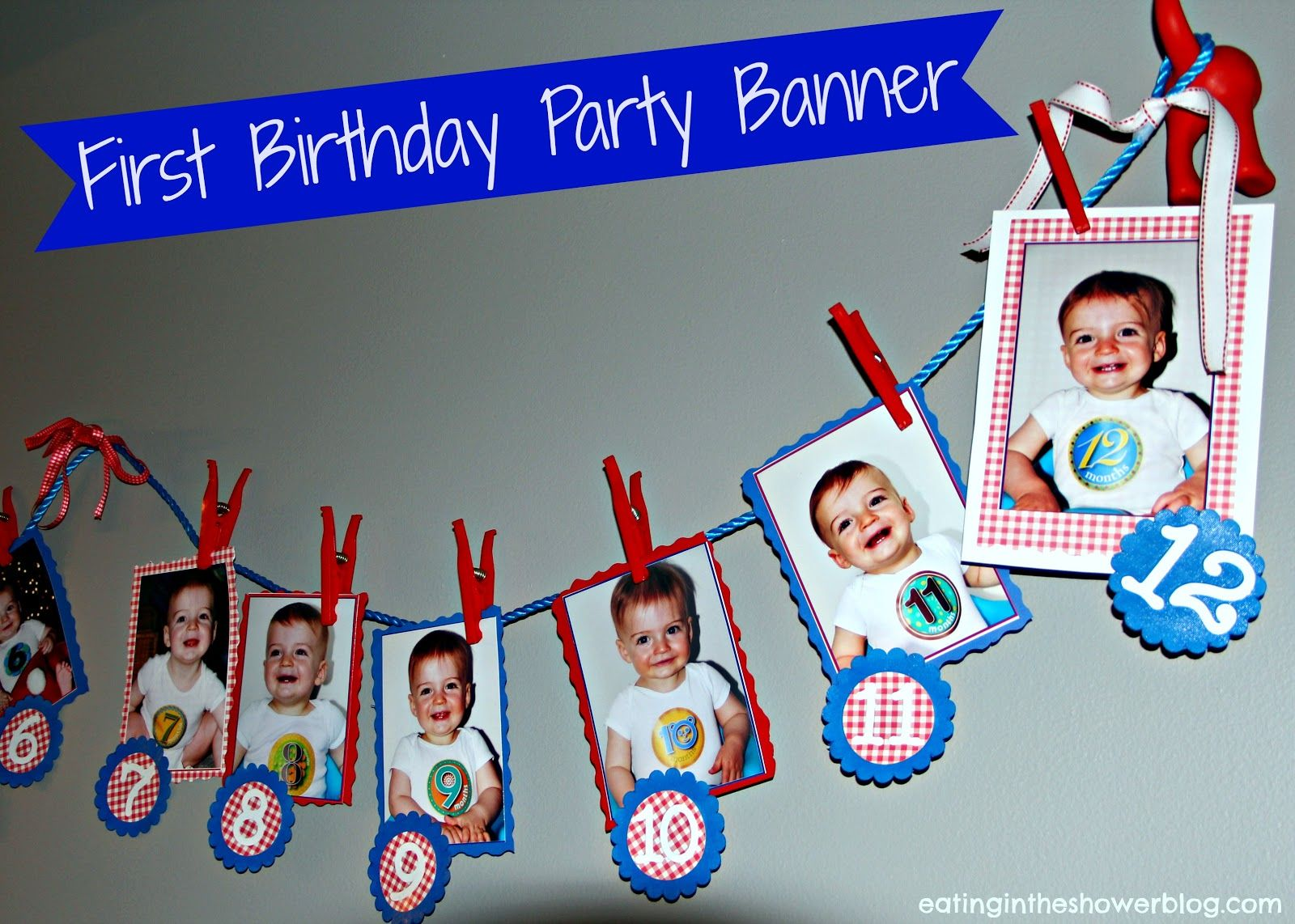 Puppy Dog Tails First Birthday Party Banners Birthdays and Dog