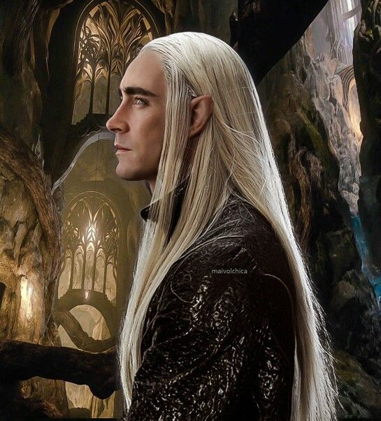 Greetings. I am Thranduil, king of the elves of Mirkwood. I hope that all will be calm here, though with some of the faces I've already seen, I know that true quiet will never come to this academy. Ah, well, at least it's a respite from my...other duties.