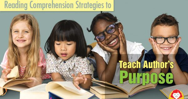 Discover new techniques for teaching difficult comprehension strategies. Teach your students to identify an author's purpose with these three steps and chart visuals. For grades 1-6.